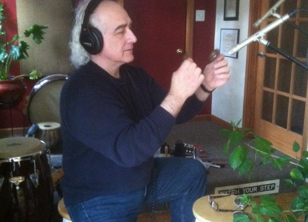 Recording Percussion track